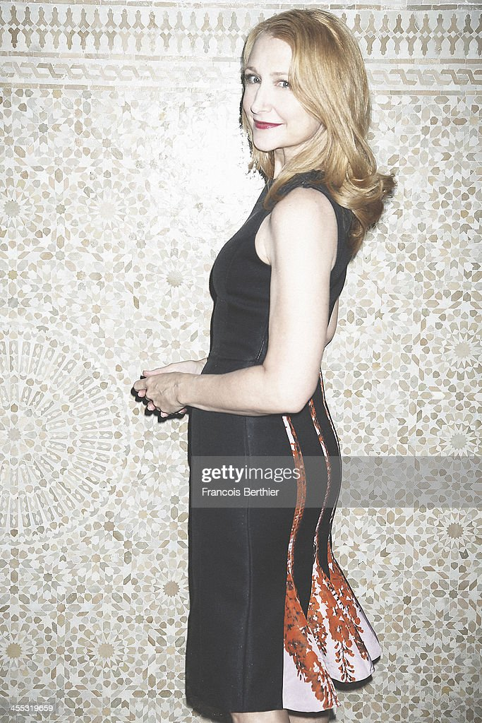 Actress <a gi-track='captionPersonalityLinkClicked' href=/galleries/search?phrase=Patricia+Clarkson&family=editorial&specificpeople=202994 ng-click='$event.stopPropagation()'>Patricia Clarkson</a> is photographed for Self Assignment during the 13th Marrakech Film Festival on December 2, 2013 in Marrakech, Morocco.