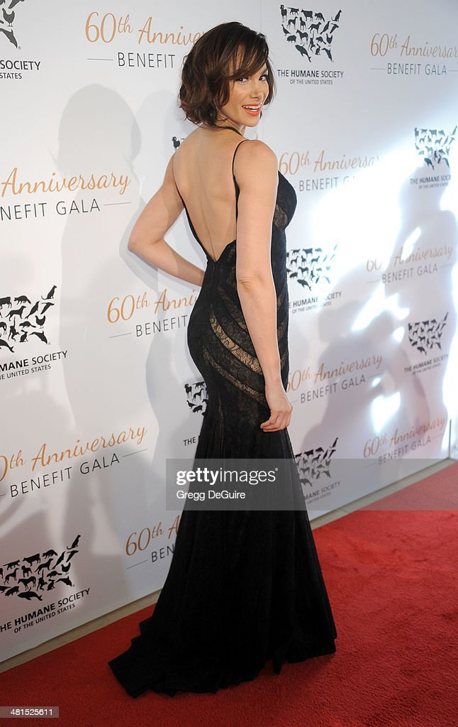 Actress Patricia De Leon arrives at The Humane Society Of The United States 60th anniversary benefit gala at The Beverly Hilton Hotel on March 29, 2014 in Beverly Hills, California.
