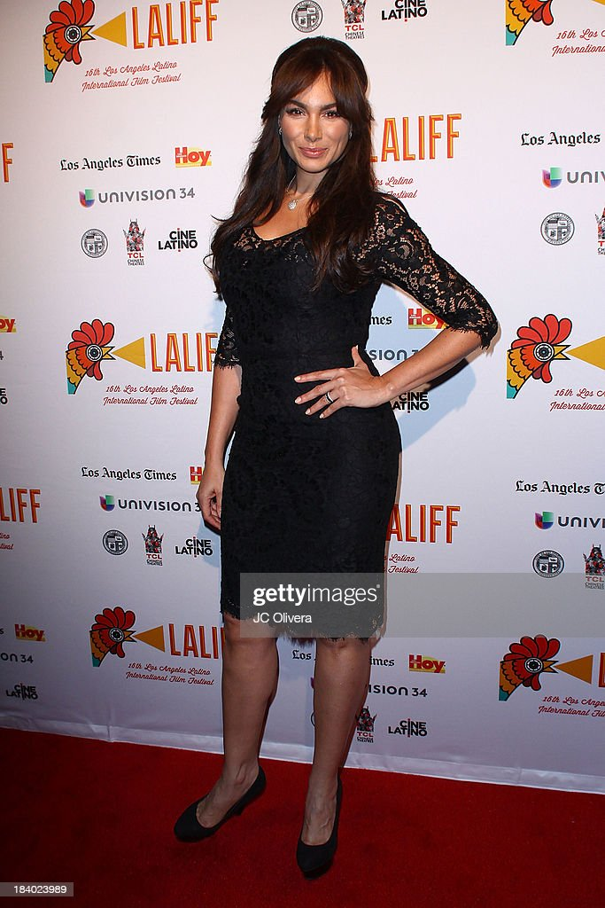 Actress <a gi-track='captionPersonalityLinkClicked' href=/galleries/search?phrase=Patricia+De+Leon&family=editorial&specificpeople=4542306 ng-click='$event.stopPropagation()'>Patricia De Leon</a> attends The 2013 Los Angeles Latino International Film Festival - Opening Night Gala Premiere of 'Pablo' at the El Capitan Theatre on October 10, 2013 in Hollywood, California.