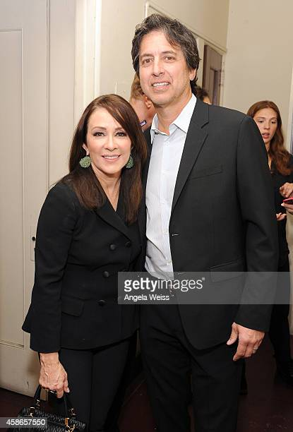Actress Patricia Heaton and host Ray Romano attend the International Myeloma Foundation 8th Annual Comedy Celebration benefiting The Peter Boyle...