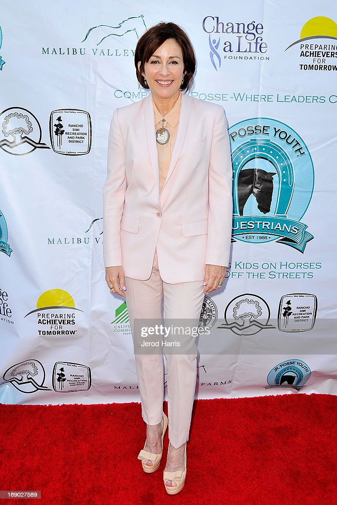 Actress Patricia Heaton arrives at the 6th Annual Compton Jr. Posse Gala at the Los Angeles Equestrian Center on May 18, 2013 in Los Angeles, California.