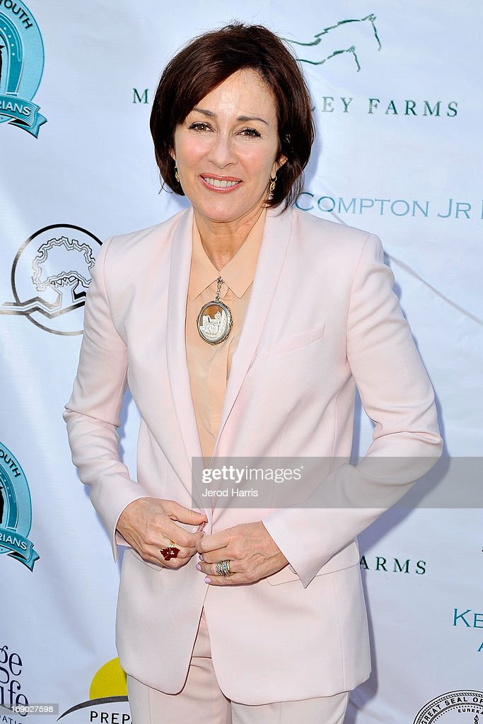 Actress <a gi-track='captionPersonalityLinkClicked' href=/galleries/search?phrase=Patricia+Heaton&family=editorial&specificpeople=173459 ng-click='$event.stopPropagation()'>Patricia Heaton</a> arrives at the 6th Annual Compton Jr. Posse Gala at the Los Angeles Equestrian Center on May 18, 2013 in Los Angeles, California.