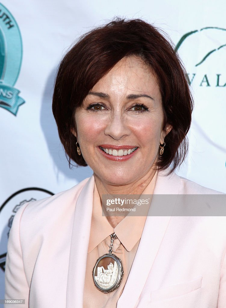 Actress Patricia Heaton arrives at the 6th Annual Compton Jr. Posse Gala at Los Angeles Equestrian Center on May 18, 2013 in Los Angeles, California.