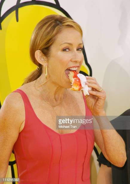 Actress Patricia Heaton arrives at 'The Simpsons Movie' World Premiere at The Mann Bruin and The Mann Village Theaters on July 24 2007 in Westwood...