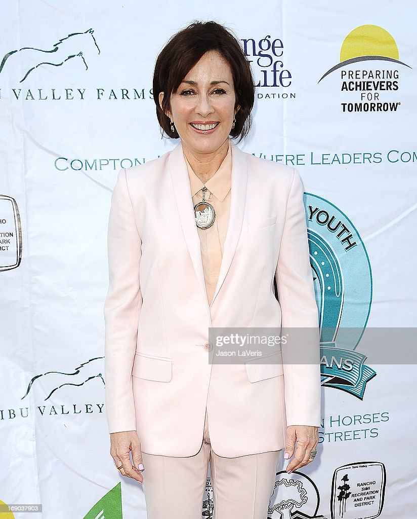 Actress Patricia Heaton attends the 6th annual Compton Jr. Posse gala at Los Angeles Equestrian Center on May 18, 2013 in Los Angeles, California.