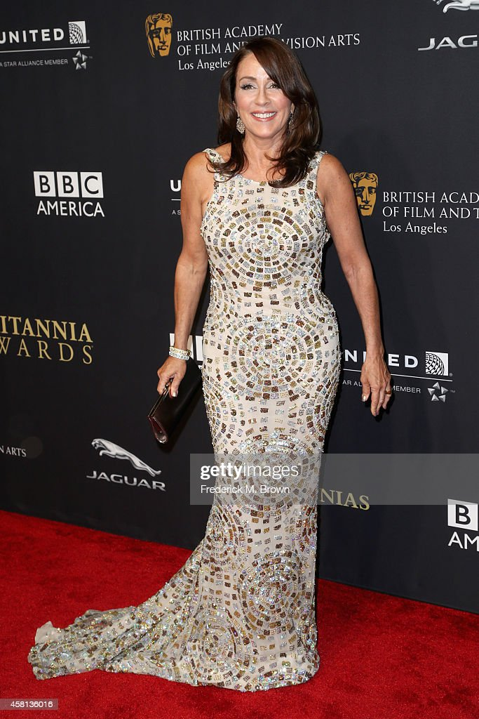 Actress Patricia Heaton attends the BAFTA Los Angeles Jaguar Britannia Awards presented by BBC America and United Airlines at The Beverly Hilton Hotel on October 30, 2014 in Beverly Hills, California.