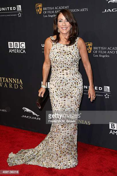 Actress Patricia Heaton attends the BAFTA Los Angeles Jaguar Britannia Awards presented by BBC America and United Airlines at The Beverly Hilton...