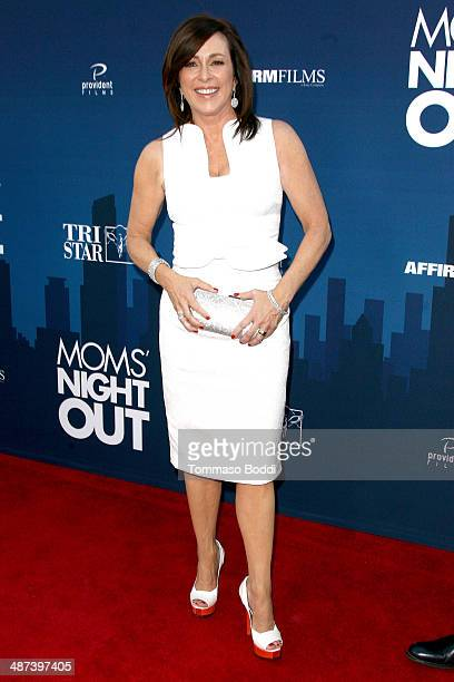 Actress Patricia Heaton attends the 'Mom's Night Out' Los Angeles premiere held at the TCL Chinese Theatre IMAX on April 29 2014 in Hollywood...