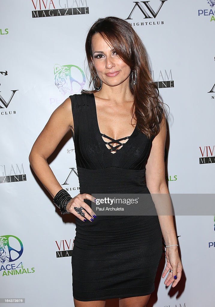 Actress Patricia Kara attends the Viva Glam Magazine April launch party in support of Peace 4 Animals at AV Nightclub on March 22, 2013 in Hollywood, California.
