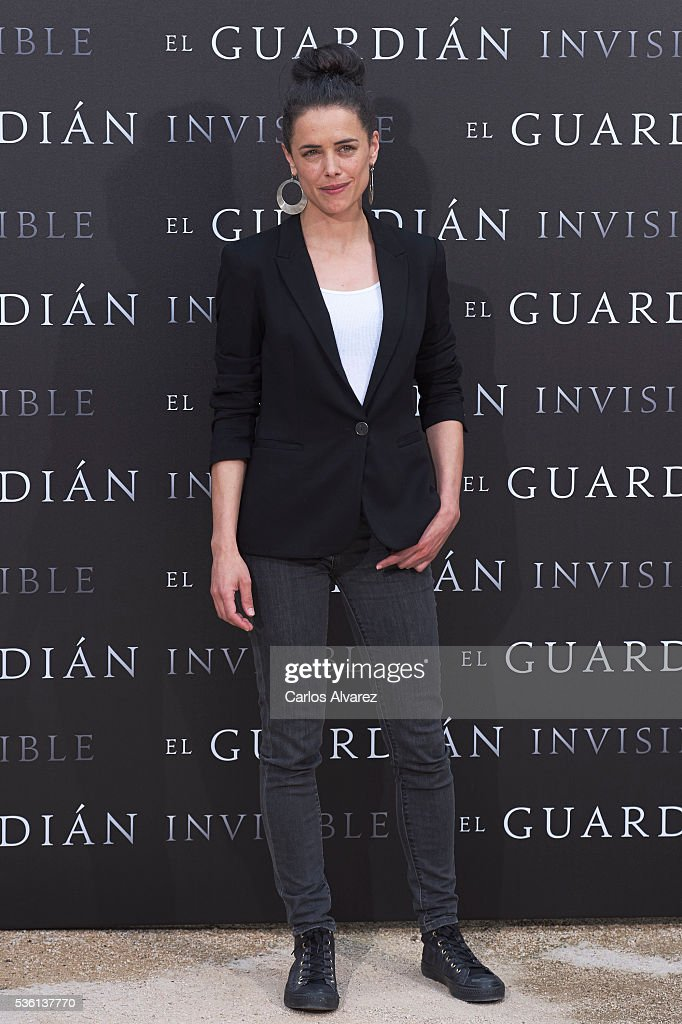Actress Patricia Lopez attends 'El Guardian Invisible' photocall on May 31, 2016 in Madrid, Spain.