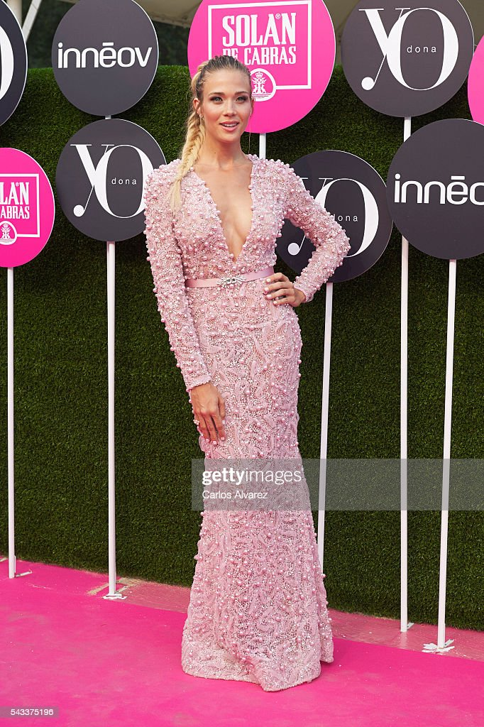 Actress Patricia Montero attends 'Yo Dona' International awards on June 27, 2016 in Madrid, Spain.
