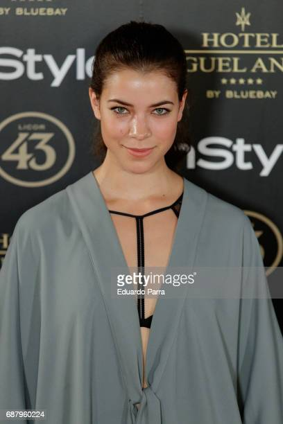 Actress Patricia Penalver attends the 'El Jardin del Miguel Angel' party photocall at Miguel Angel hotel on May 24 2017 in Madrid Spain