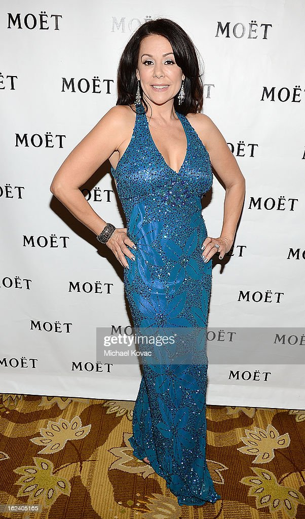 Actress <a gi-track='captionPersonalityLinkClicked' href=/galleries/search?phrase=Patricia+Rae&family=editorial&specificpeople=220492 ng-click='$event.stopPropagation()'>Patricia Rae</a> attends The National Hispanic Media Coalition Impact Awards sponsored by Moet & Chandon at the Beverly Wilshire Four Seasons Hotel on February 22, 2013 in Beverly Hills, California.