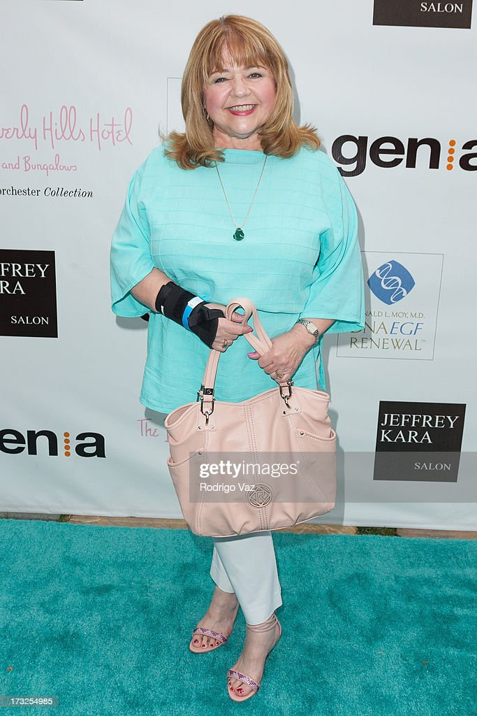 Actress Patrika Darbo arrives at 'The Fountain Of Youth White Party' to Celebrate