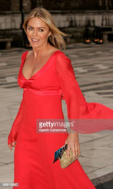 Actress Patsy Kensit arrives at ITV's 50th Anniversary Royal Reception at the Guildhall on October 13 2005 in London England Queen Elizabeth II and...