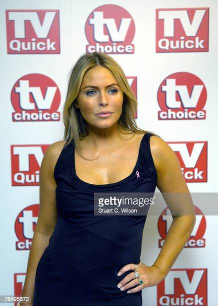 Actress Patsy Kensit arrives for the TV Quick TV Choice awards at the Dorchester Hotel September 3 2007 in London England