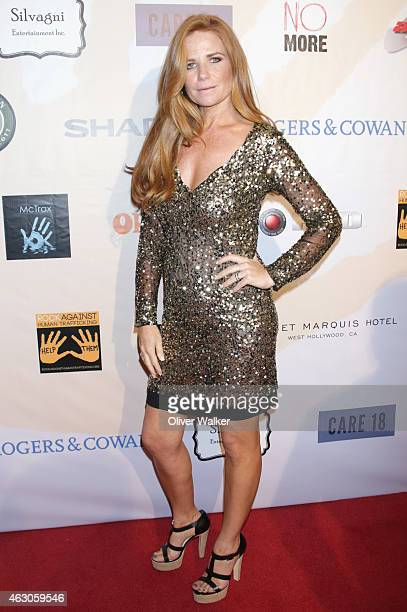 Actress Patsy Palmer arrives at the Sunset Marquis Hotel And Rock Against Trafficking GRAMMY After Party at Exchange LA on February 8 2015 in Los...
