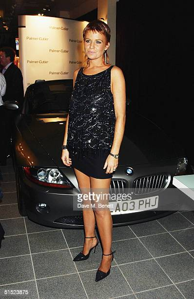 Actress Patsy Palmer attends Patsy Palmer and Charlotte Cutler's party to unveil new beauty product at BMW Westminster on October 14 2004 in London