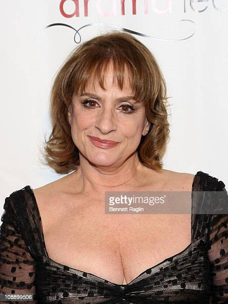 Actress Patti LuPone attends the Drama League's 27th Annual AllStar Benefit gala at The Pierre Hotel on February 7 2011 in New York City