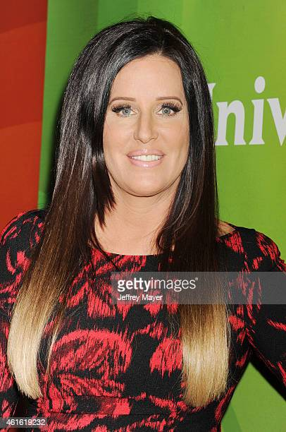 Actress Patti Stanger attends the NBCUniversal 2015 Press Tour at the Langham Huntington Hotel on January 15 2015 in Pasadena California