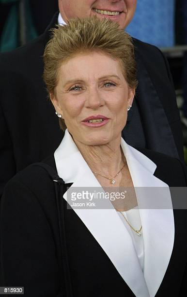 Actress Patty Duke attends the 7th Annual Screen Actors Guild Awards March 11 2001 at the Shrine Auditorium in Los Angeles CA