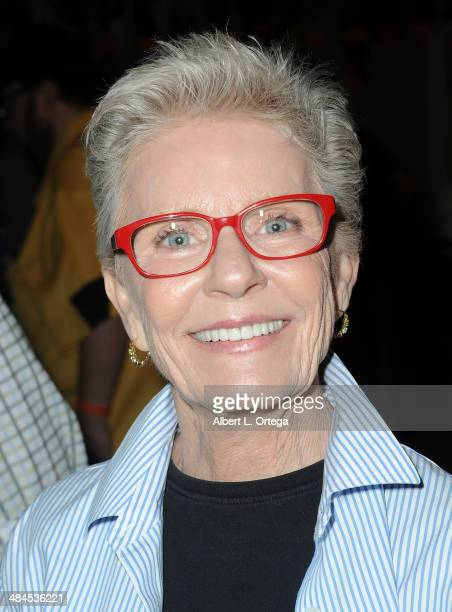 Actress Patty Duke attends The Hollywood Show 2014 held at Westin LAX Hotel on April 12 2014 in Los Angeles California