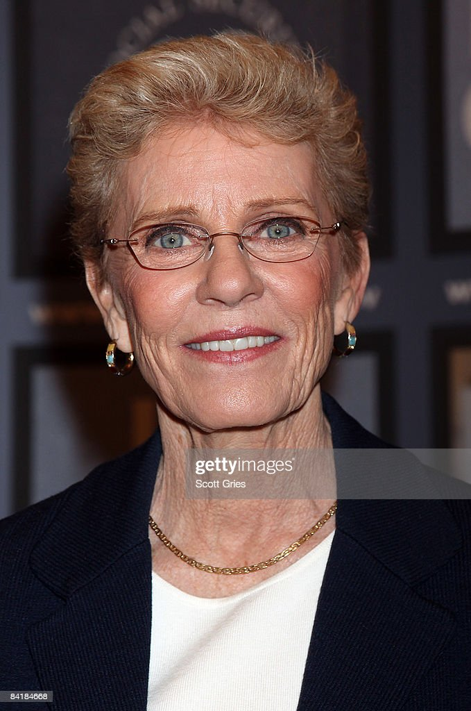 Actress <a gi-track='captionPersonalityLinkClicked' href=/galleries/search?phrase=Patty+Duke&family=editorial&specificpeople=93921 ng-click='$event.stopPropagation()'>Patty Duke</a> attends the national premiere of her new Social Security public service announcement at the Paley Center for Media on January 6, 2009 in New York City.