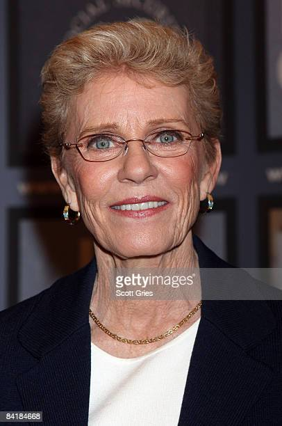Actress Patty Duke attends the national premiere of her new Social Security public service announcement at the Paley Center for Media on January 6...