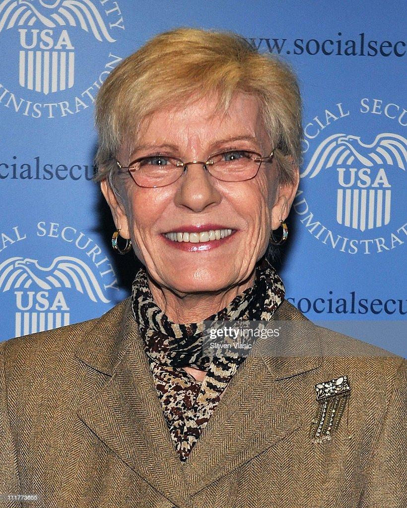 Actress <a gi-track='captionPersonalityLinkClicked' href=/galleries/search?phrase=Patty+Duke&family=editorial&specificpeople=93921 ng-click='$event.stopPropagation()'>Patty Duke</a> attends the official launch of George Takei and <a gi-track='captionPersonalityLinkClicked' href=/galleries/search?phrase=Patty+Duke&family=editorial&specificpeople=93921 ng-click='$event.stopPropagation()'>Patty Duke</a>'s Social Security Administration Public Service announcements on April 6, 2011 in New York City.