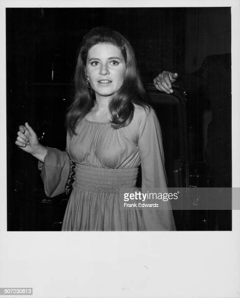 Actress Patty Duke backstage at the Joey Bishop show July 1969