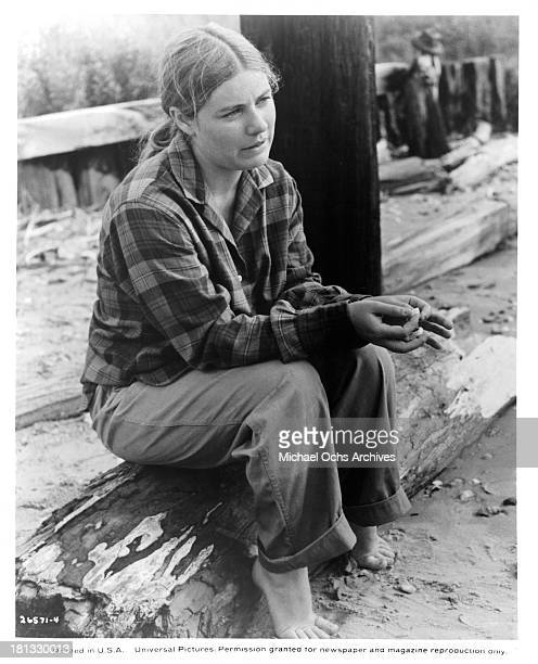 Actress Patty Duke on the set of the Universal Pictures movie 'My Sweet Charlie' in 1970