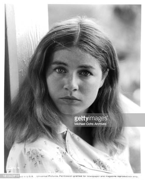 Actress Patty Duke poses on the set of the Universal Pictures movie 'My Sweet Charlie' in 1970