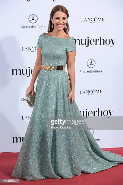 Actress Paula Echevarria attends 'Mujer Hoy' awards gala at Palace Hotel on December 16 2014 in Madrid Spain