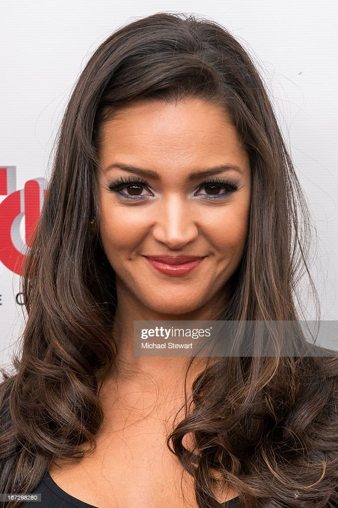 Actress Paula Garces attends the 'All My Children' & 'One Life To Live' premiere at Jack H. Skirball Center for the Performing Arts on April 23, 2013 in New York City.