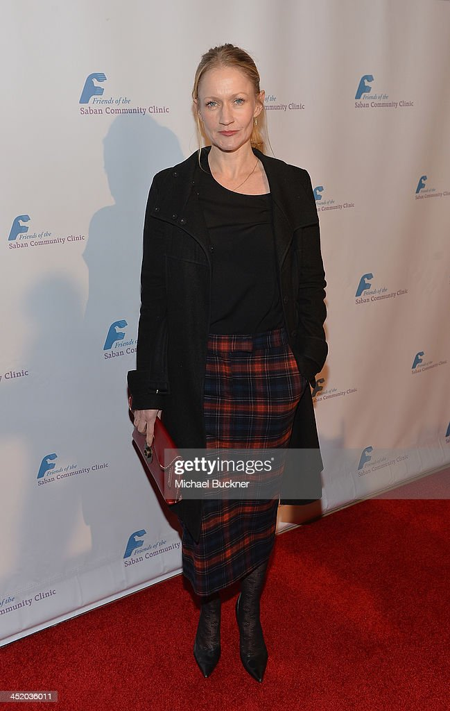 Actress Paula Malcomson arrives at the 37th Annual Saban Community Clinic Gala at The Beverly Hilton Hotel on November 25, 2013 in Beverly Hills, California.