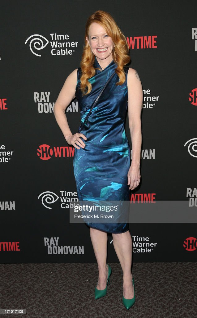 Actress <a gi-track='captionPersonalityLinkClicked' href=/galleries/search?phrase=Paula+Malcomson&family=editorial&specificpeople=577525 ng-click='$event.stopPropagation()'>Paula Malcomson</a> attends Showtime's new series premiere of 'Ray Donovan' at the Directors Guild of America on June 25, 2013 in Los Angeles, California.