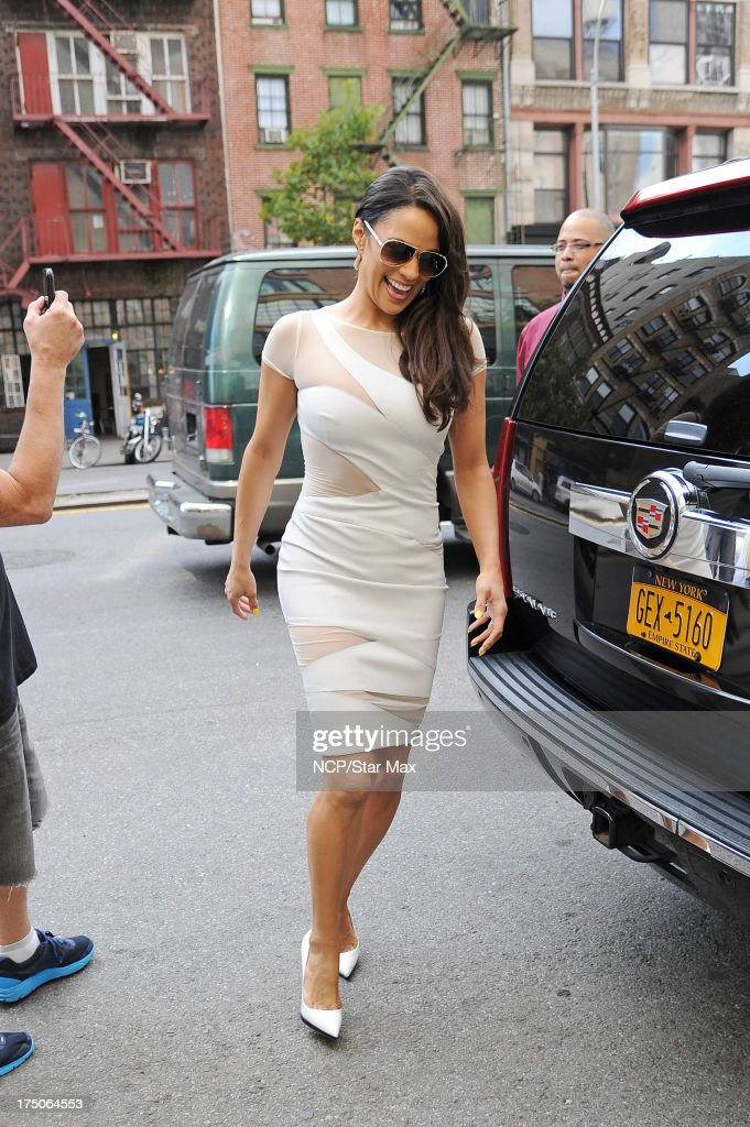 Celebrity Sightings In New York City - July 30, 2013