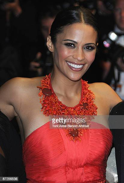 Actress Paula Patton attend the 'Precious' Premiere at the Grand Theatre Lumiere during the 62nd Annual Cannes Film Festival on May 15 2009 in Cannes...