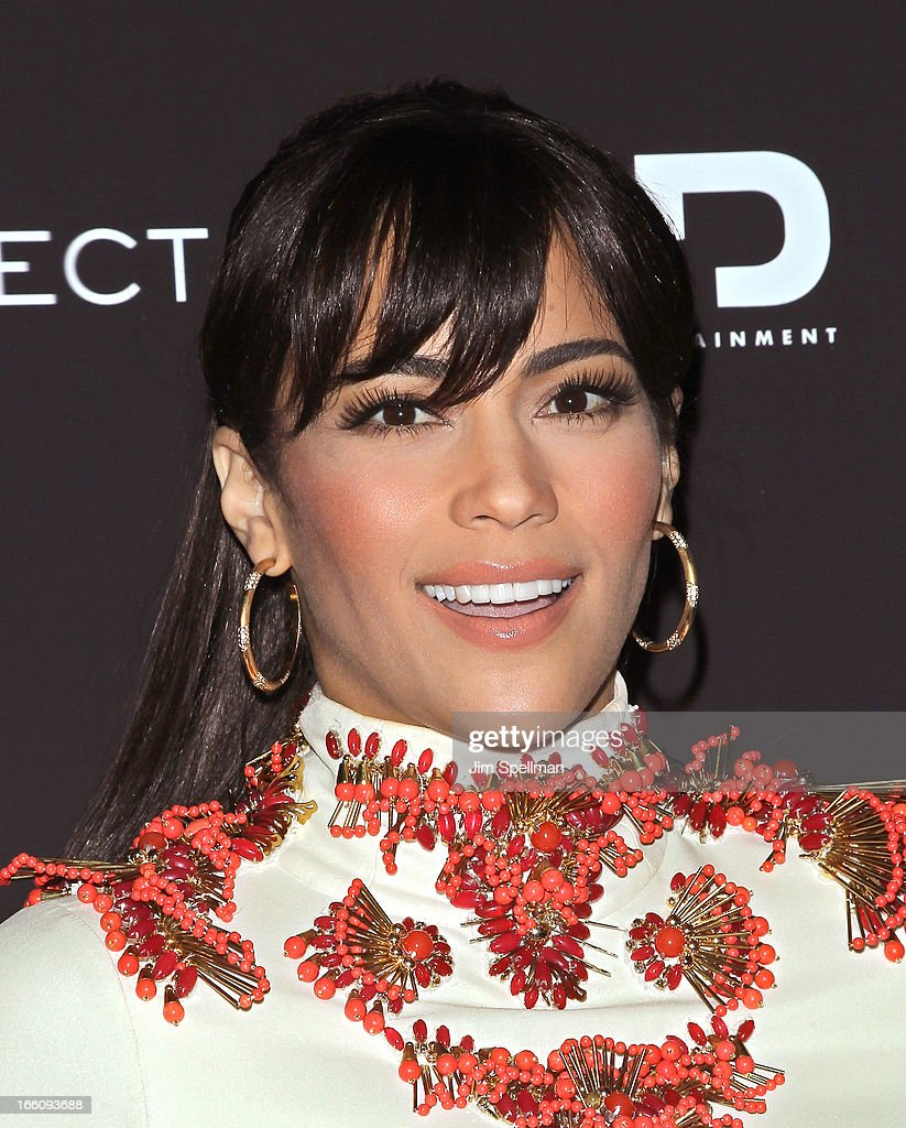 Actress Paula Patton attends 'Disconnect' New York Special Screening at SVA Theater on April 8, 2013 in New York City.