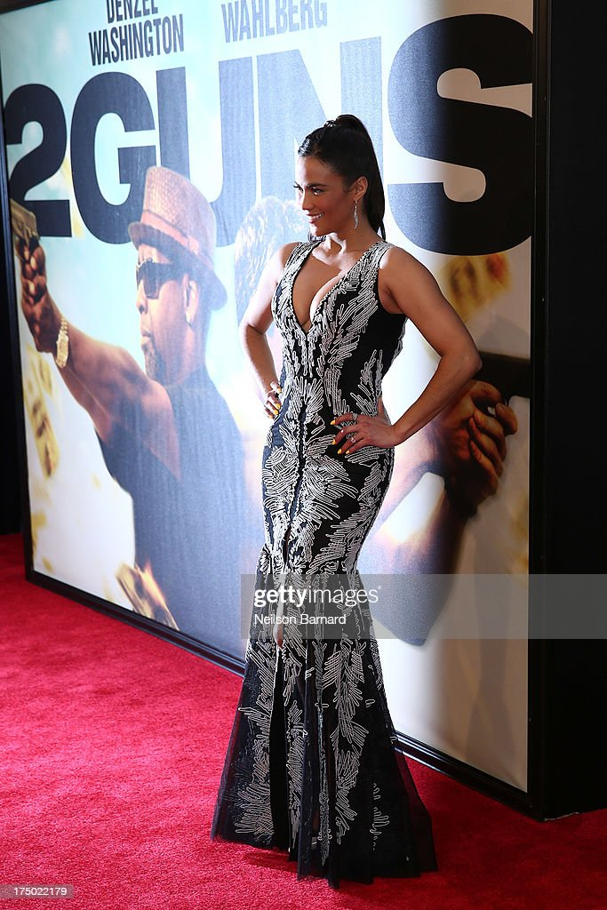 Actress <a gi-track='captionPersonalityLinkClicked' href=/galleries/search?phrase=Paula+Patton&family=editorial&specificpeople=752812 ng-click='$event.stopPropagation()'>Paula Patton</a> attends the '2 Guns' New York Premiere at SVA Theater on July 29, 2013 in New York City.