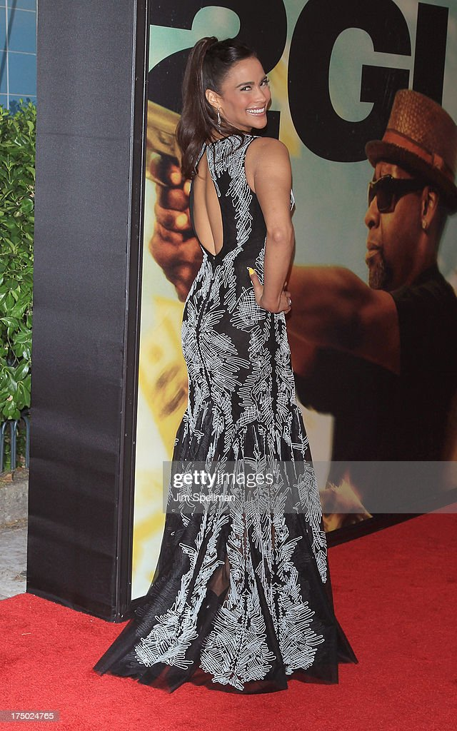 Actress Paula Patton attends the '2 Guns' New York Premiere at SVA Theater on July 29, 2013 in New York City.