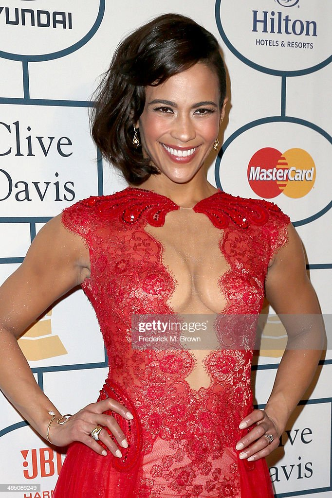 Actress <a gi-track='captionPersonalityLinkClicked' href=/galleries/search?phrase=Paula+Patton&family=editorial&specificpeople=752812 ng-click='$event.stopPropagation()'>Paula Patton</a> attends the 56th annual GRAMMY Awards Pre-GRAMMY Gala and Salute to Industry Icons honoring Lucian Grainge at The Beverly Hilton on January 25, 2014 in Beverly Hills, California.