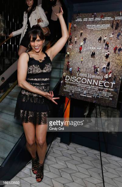 Actress Paula Patton attends the 'Disconnect' New York Special Screening after party at Abe Arthur's on April 8 2013 in New York City