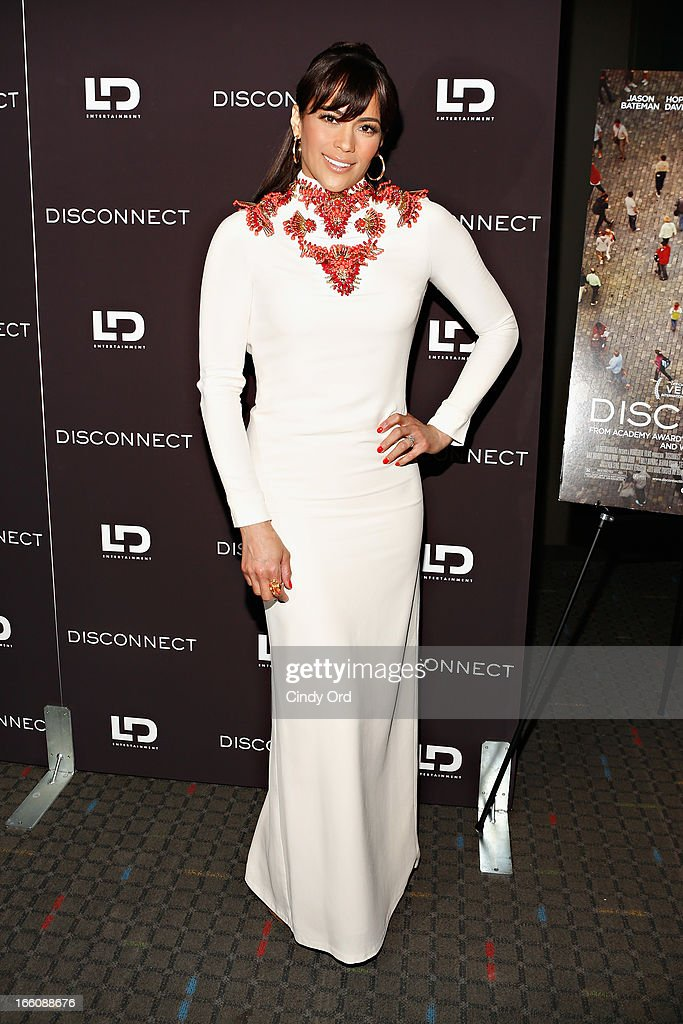 Actress <a gi-track='captionPersonalityLinkClicked' href=/galleries/search?phrase=Paula+Patton&family=editorial&specificpeople=752812 ng-click='$event.stopPropagation()'>Paula Patton</a> attends the 'Disconnect' New York Special Screening at SVA Theater on April 8, 2013 in New York City.