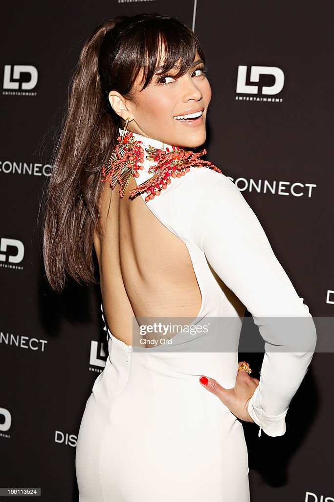 Actress Paula Patton attends the 'Disconnect' New York Special Screening at SVA Theater on April 8, 2013 in New York City.