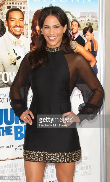Actress Paula Patton attends the film premiere of TriStar Pictures' 'Jumping The Broom' at the Arclight Cinerama Dome on May 4 2011 in Los Angeles...