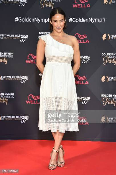 Actress Paula Patton attends the Golden Nymph Nominees Party at the MonteCarlo Bay Hotel on June 19 2017 in MonteCarlo Monaco