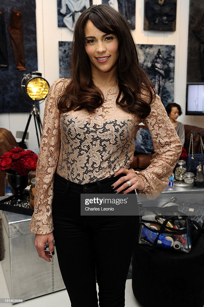 Actress <a gi-track='captionPersonalityLinkClicked' href=/galleries/search?phrase=Paula+Patton&family=editorial&specificpeople=752812 ng-click='$event.stopPropagation()'>Paula Patton</a> attends the Guess Portrait Studio during 2012 Toronto International Film Festivalat at the Bell Lightbox on September 11, 2012 in Toronto, Canada.