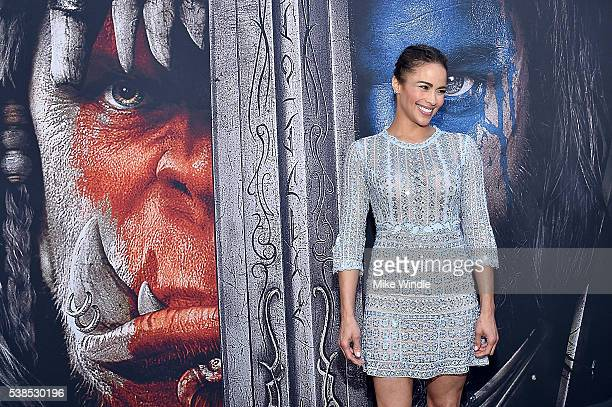 Actress Paula Patton attends the premiere of Universal Pictures' 'Warcraft' at TCL Chinese Theatre IMAX on June 6 2016 in Hollywood California