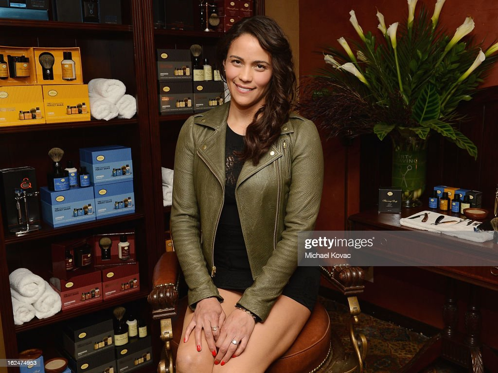 Actress Paula Patton attends the The Art of Shaving And Bungalow 8 Pre-Oscar Party at Petit Ermitage Hotel on February 20, 2013 in West Hollywood, California.